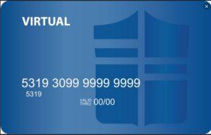 virtual plastic card